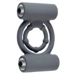 UTIMI Vibrating Cock Ring with Dual Mini Vibrators