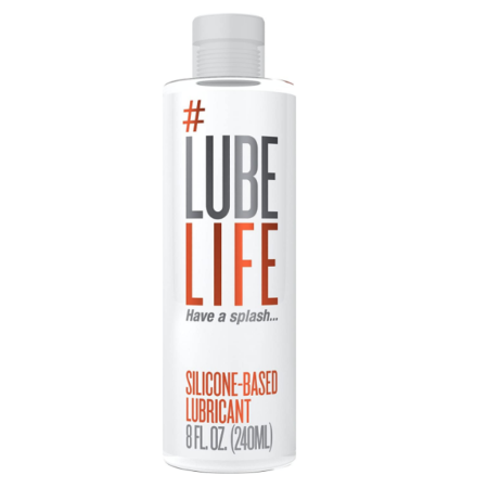 LubeLife Thick Silicone Based Anal Lubricant - 8Oz | Sexpressions