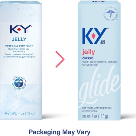 KY Jelly Personal Water Based Lubricant 4oz