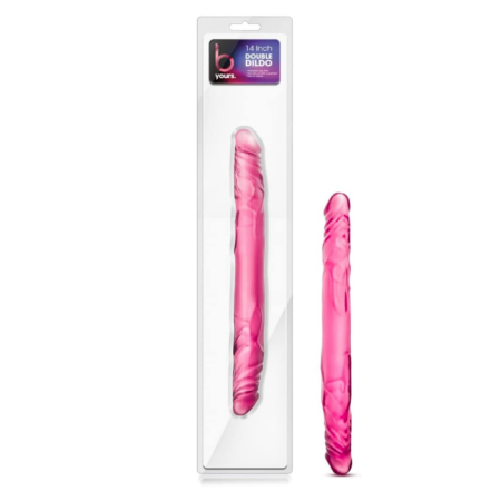 Blush Novelties - 14 inch Double Ended Realistic Dildo - Pink