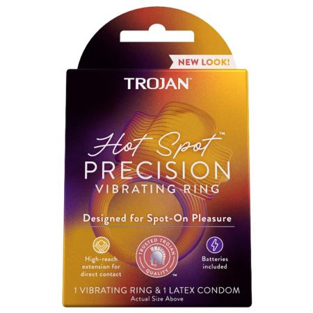 Trojan Vibrations Hot Spot Vibrating Ring