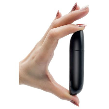 USB Clitoral Bullet Vibrator - Black